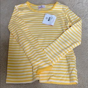 NWT Hanna Andersson long sleeve top, 120'(6/7)